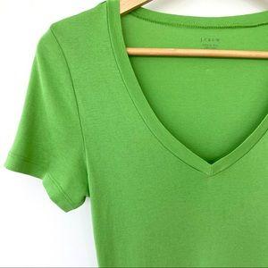 J. Crew 💯 cotton t-shirt with v-neck